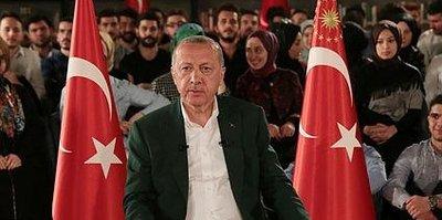 Başkan Erdoğan'dan Fenerbahçe yanıtı