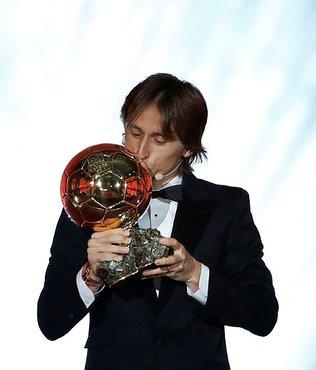 """""""Altın Top"""" ödülü Modric'in"""