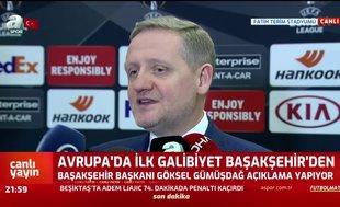 Gümüşdağ'dan UEFA'ya 'asker selamı' göndermesi