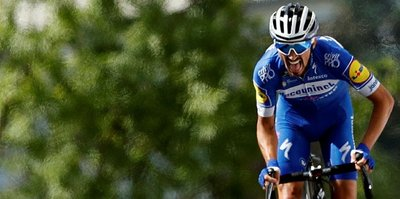 Fransa Bisiklet Turu'nda üçüncü etabı Julian Alaphilippe kazandı