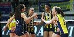 Fenerbahçe Opet CEV Şampiyonlar Ligi'nde yarı finale çıktı