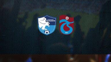 BB Erzurumspor - Trabzonspor maçı CANLI