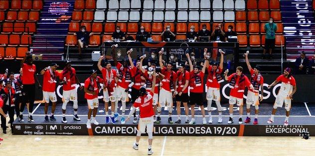 İspanya Basketbol Ligi'nde şampiyon Baskonia