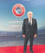 Servet Yardımcı, UEFA Yönetim Kurulu'na seçildi