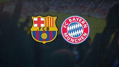 Barcelona-Bayern Münih maçı CANLI