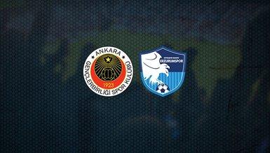 Gençlerbirliği - BB Erzurumspor   CANLI