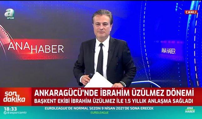ankaragucunde ibrahim uzulmez donemi 1593014356166 - Ankaragücü'nde İbrahim Üzülmez dönemi!