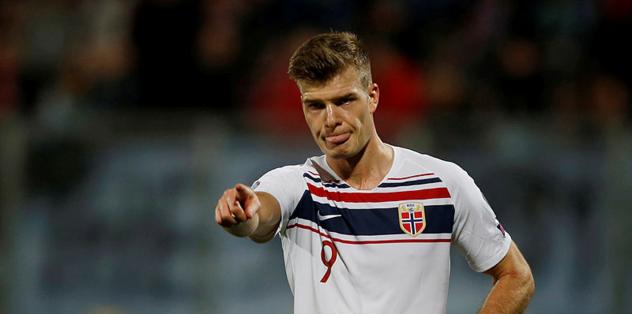 Norveç'in galibiyet golü Sörloth'tan