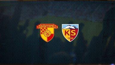Göztepe - Kayserispor maçı ne zaman, saat kaçta ve hangi kanalda canlı yayınlanacak?   Süper Lig