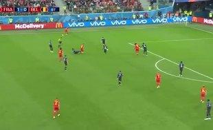 2018 Dünya Kupası yarı finalinde Fransa Belçika'yı 1-0 mağlup etti ve finale yükseldi (GENİŞ ÖZET)