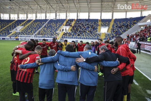 Gençlerbirliği - Kayserispor maçından kareler!