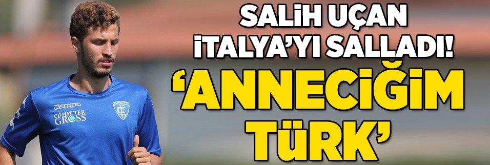 """Salih Uçan İtalya'yı salladı! """"Anneciğim Türk..."""""""