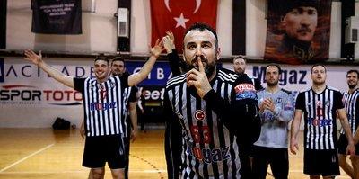 Beşiktaş Mogaz, üst üste 10. kez!