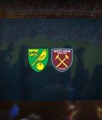 Norwich City-West Ham United maçı saat kaçta? Hangi kanalda?