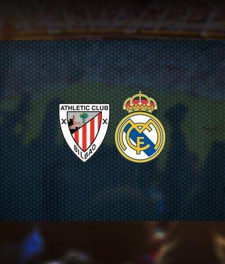Athletic Bilbao-Real Madrid maçı ne zaman? Saat kaçta? Hangi kanalda canlı yayınlanacak?