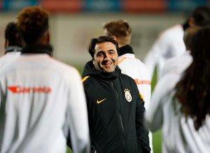 Galatasaray, Emrah Bayraktar yönetiminde çalıştı