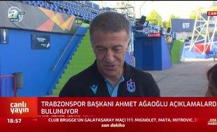Ahmet Ağaoğlu: Ben iyi oynamadım diye hakem beni cezalandıramaz