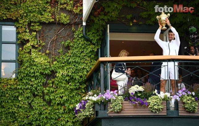 Djokovic kazanınca öyle bir şey yaptı ki... İşte o görüntüler