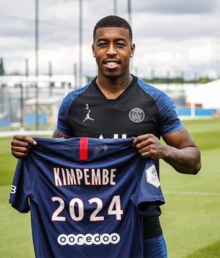 PSG'de Kimpembe'nin sözleşmesi 2024 yılına kadar uzatıldı!