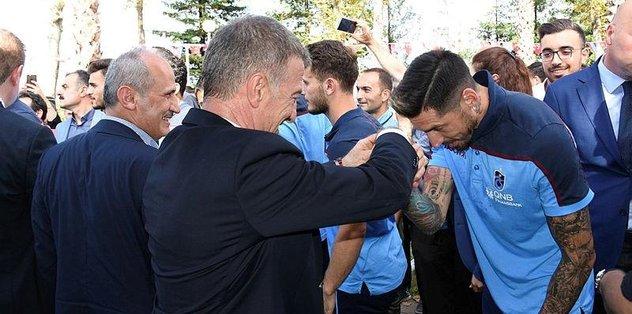Trabzonspor'da bayramlaşma töreni - Son dakika Trabzonspor ...