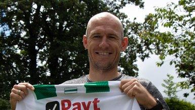 Arjen Robben Groningen formasıyla futbola geri döndü!