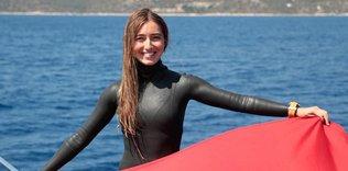 Şahika Ercümen, dünya rekoru için Salda Gölü'ne dalacak