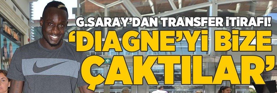 G.Saray'dan şok transfer itirafı! 'Diagne'yi bize çaktılar'
