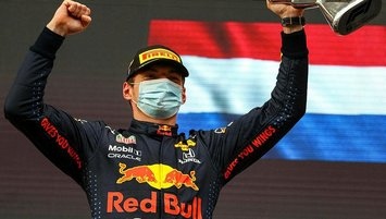 F1 Emilia-Romagna Grand Prix'sinde kazanan Max Verstappen