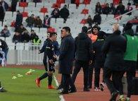 Beşiktaş'ta Medel ile Şenol Güneş arasında tartışma!