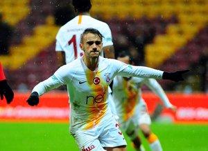 Galatasaray - Keçiörengücü maçından kareler