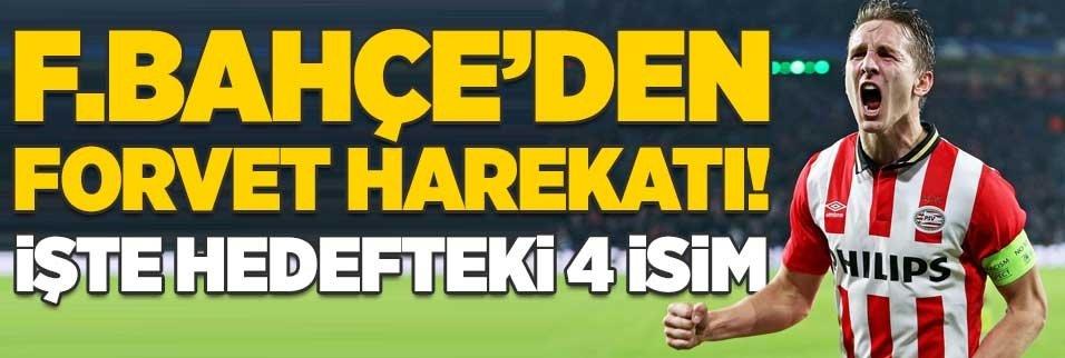 Fenerbahçe'den forvet harekatı! İşte hedefteki 4 isim