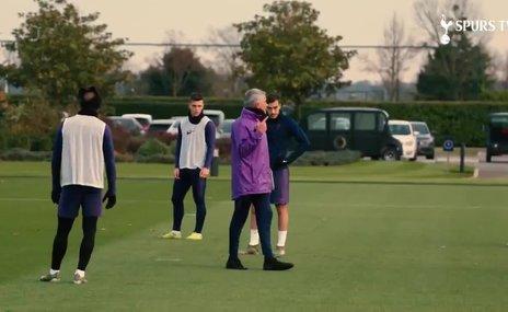 Mourinho ilk idmanına çıktı