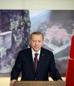 Başkan Erdoğan'dan Süper Lig'e çıkan takımlara tebrik!