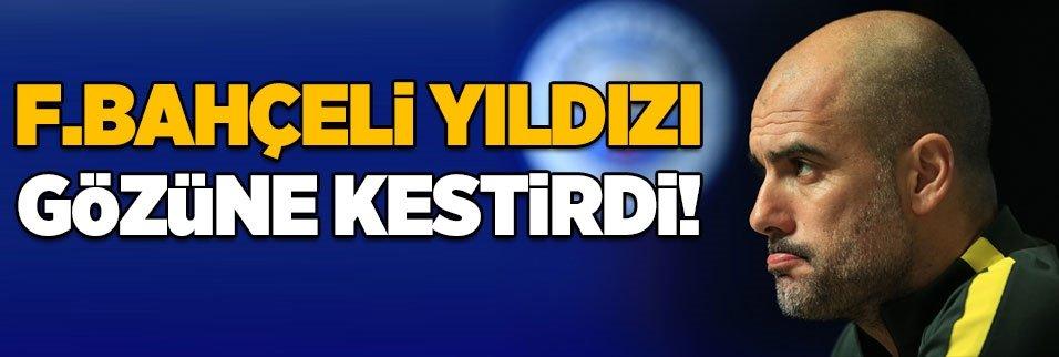 Guardiola'nın gözü Fenerbahçeli o yıldızda!