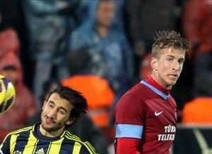 Trabzonspor - Fenerbahçe maçından kareler