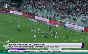 Akhisarspor'da çifte şok!