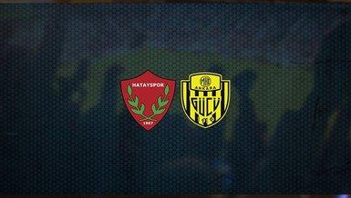 Hatayspor - Ankaragücü maçı CANLI