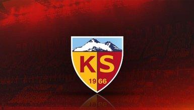 Kayserispor'a müjdeli haber
