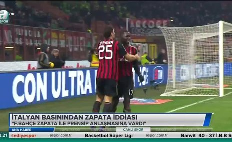 İtalyan basınından Zapata iddiası