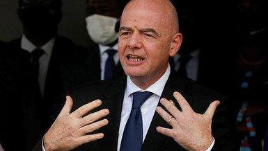 Infantino Kulüpler Dünya Kupası projesi hakkında konuştu