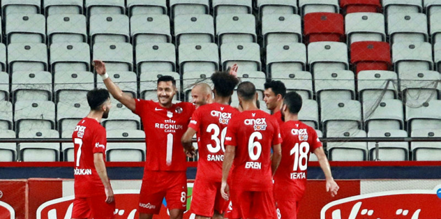 Antalyaspor 1-0 Aytemiz Alanyaspor | MAÇ SONUCU - Futbol -