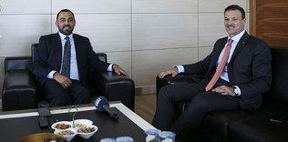 Alpay Özalan'dan Hamza Yerlikaya'ya ziyaret