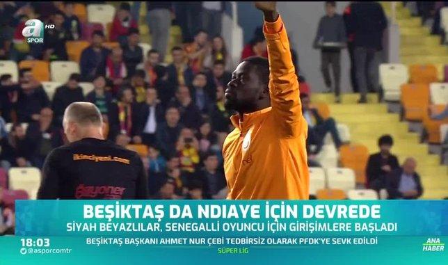 Beşiktaş da Ndiaye için devrede