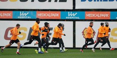 Galatasaray'da Medipol Başakşehir maçı hazırlıkları