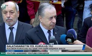 Galatasaray'ın 113. kuruluş yılı
