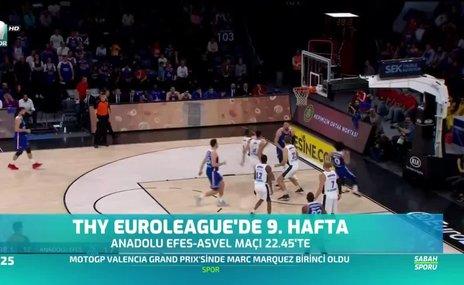 Thy Euroleague'de 9. hafta