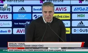 """Ersun Yanal: """"Türk futboluna geçmiş olsun"""""""