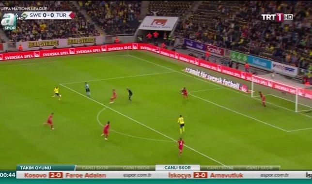 İsveç 2-3 Türkiye | GENİŞ ÖZET