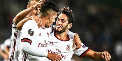 Çalhanoğlu yıldızlaştı, Milan coştu