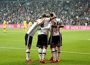 Beşiktaşın rekor gecesi